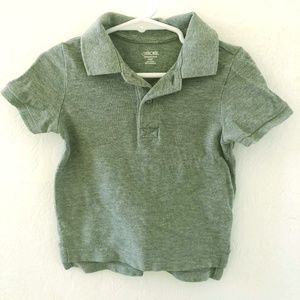 Boy Grey Polo
